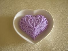 Zeep hartje Pure Soap, Icing, Heart Ring, Pure Products, Jewelry, Jewlery, Jewerly, Schmuck, Heart Rings