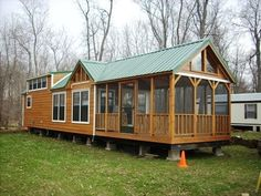 small log cabin mobile homes found on oakcanyonparkmodelsandhomescom