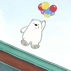 Ice Bear We Bare Bears, 3 Bears, Cute Bears, Bear Wallpaper, Pink Wallpaper Iphone, Disney Wallpaper, We Bare Bears Wallpapers, Colors And Emotions, Bear Cartoon