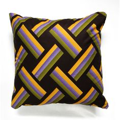 Cushion, Cushion cover, Cotton, Africa, Ethno, 18 x 18'' cotton - pinned by pin4etsy.com