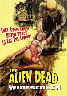 THE ALIEN DEAD DVD (RETROMEDIA)