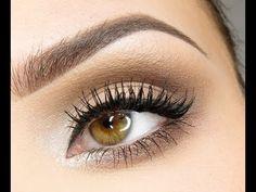 Nice Natural eye Make up :) so putty! Hazel Eye Makeup, Applying Eye Makeup, How To Apply Eyeshadow, Eye Makeup Tips, Makeup For Brown Eyes, Skin Makeup, Makeup Hacks, Makeup Ideas, Makeup Tutorials