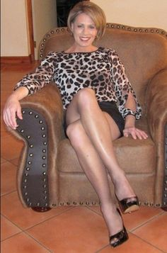 Sexy woman mature clothed