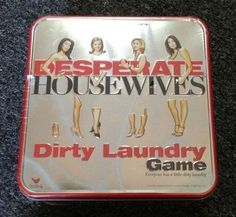 Desperate Housewives Dirty Laundry Board Game New In Package #ParkerBrothers