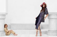 CHANEL campaign with Joan Smalls