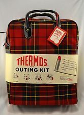 Image result for plaid thermos outing kit