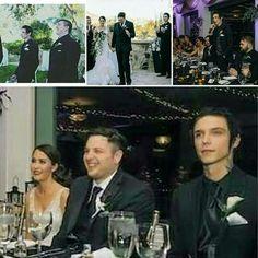 Andy Biersack ☆ Best man at Matt Goods wedding ❤