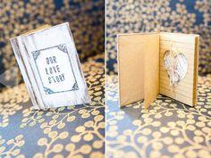 Ring Bearer Pillow Book - Our Love Story - Alternative Ring Pillow - Custom Color Options via Etsy