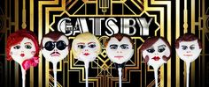 Splendid Great Gatsby Cake Pops  made by Lou Lou P's Delights