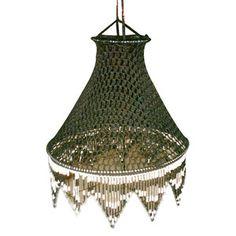 Another beautiful crochet lamp!
