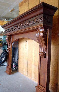 Front Door Design Wood, Wooden Door Design, Wooden Doors, Fireplace Facade, Fireplace Remodel, Fireplace Design, Living Room Partition Design, Pooja Room Door Design, Single Main Door Designs