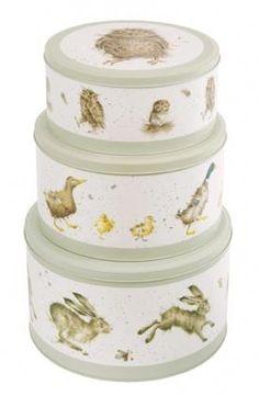 Wrendale Set of 3 Cake Tins