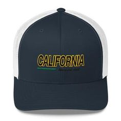 California Traditional Trucker Cap