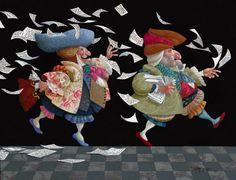 The Paper Chase ~ James Christensen