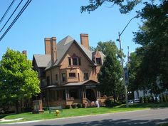 Bacon Memorial District Library in Wyandotte, MI occupies the former Ford-Bacon House.