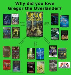 Gregor the Overlander Reading Map from Salt Lake County Library