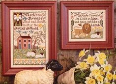 Daffodils - (Cross Stitch) Find your next floral design at Cobweb Corner. Save 20% off your first order with coupon WELCOMECC  #crossstitch #flowers #cobwebcorner
