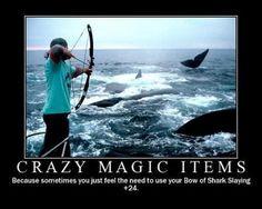 Crazy Magic Items