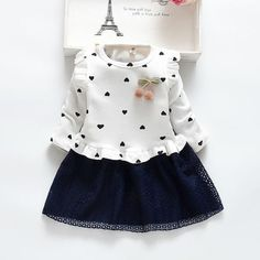 Girls dress spring and autumn long-sleeved children's clothing new cotton childr.-- Girls dress spring and autumn long-sleeved children's clothing new cotton children's mesh dress 2 3 4 5 years Kids Fashion Blog, Girl Fashion, Dresses Kids Girl, Kids Outfits, Mesh Dress, Spring Dresses, Kind Mode, Cotton Dresses, Floral Dresses