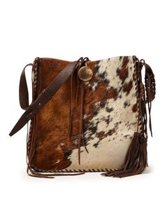 41c77ef5c745 Spotted Haircalf Hobo Bag - Ralph Lauren New Arrivals - RalphLauren.com  Cowhide Purse