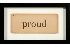 And I had boxes of these old flash cards in my classroom. Framed Vintage Flash Card, Proud Vintage Flash, Boxes, Classroom, Frame, Cards, Ideas, Class Room, Picture Frame, Crates