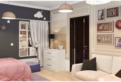 Детская комната для девочки - Галерея 3ddd.ru
