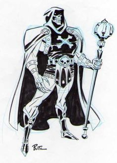 Skeletor by Bruce Timm
