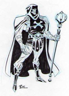 Skeletor by Bruce Timm