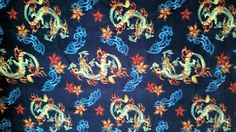 Fleece fabric with dragons polyester quilt sewing material to sew crafting by the yard BTY fleece dragon fabric www.etsy.com/shop/ConniesQuiltFabrics     - pinned by pin4etsy.com