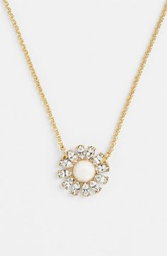 "Dainty @kate spade new york ""estate garden"" necklace #Nordstrom"