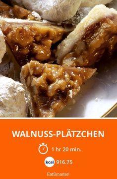 Walnuss-Plätzchen - smarter - Kalorien: 916.75 kcal - Zeit: 1 Std. 20 Min. | eatsmarter.de