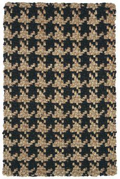 houndstooth rug - timeless design