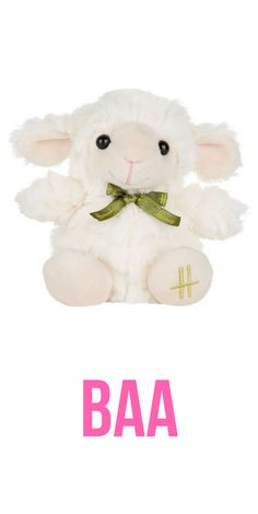 Harrodu0027s 2018 Plush Easter Lamb Toy. #Easter #stuffedanimal #lamb #ad