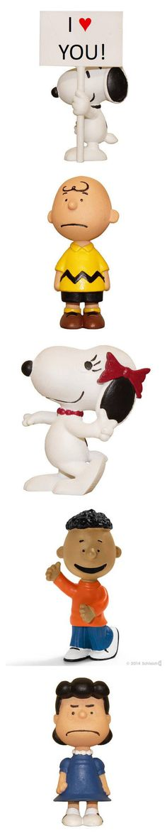 Schleich has released new Peanuts figurines featuring Charlie Brown, Lucy, Linus, Sally, Franklin, Woodstock, Belle and Snoopy! Start shopping at CollectPeanuts.com and support our site. Thank you!
