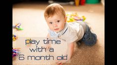 Baby 6 Months Play Video