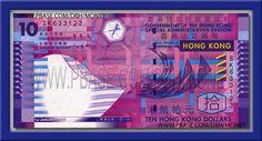 10 Dollar (new) #Hong Kong #World🇨🇺🇷🇷🇪🇳🇨🇾