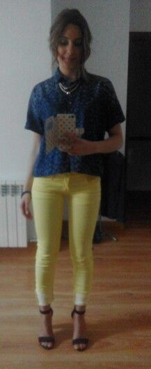 Lemon pants
