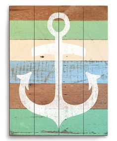 Pastel Anchor Wall Décor by Image Canvas