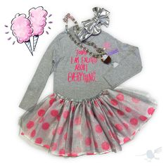 """""""Today I am excited about EVERYTHING... because it's FRIDAY!!! •¡El 'Look' que toda niña quiere!• #Colibrí #LooksWeLove #NewArrivals #OhBabyStyle #Tutu…"""""""