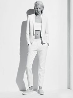 Sandro, all white styling