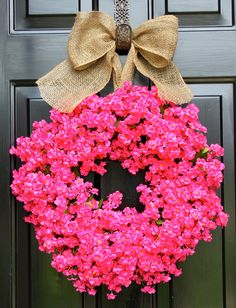 Summer wreath- Floral Wreath - Door Wreath - Spring wreath-Home decor - Wreaths - Floral Arrangements - Country Cottage