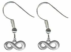 Infinity Earrings Surgical Stainless Sreel Figure 8 Jewelry Stocking Stuffers BodySparkle JR. $11.97. Surgical Sttainless Earwires. Perfect Stocking Stuffers. Suitable preteen to adult. Packaged in a beautiful giftbag. The Infinity Symbol refers to something without any limits.. Save 25% Off!