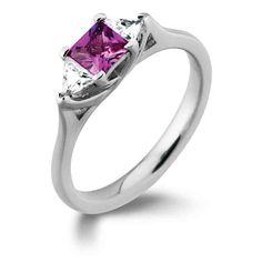Cheap Pink Diamond Engagement Rings