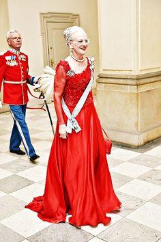 Gala Dinner for Queen Margrethe's 75th Birthday, Denmark, April 15, 2015-Queen Margrethe