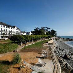 Grand Hotel Des Bains - Locquirec - Bretagne
