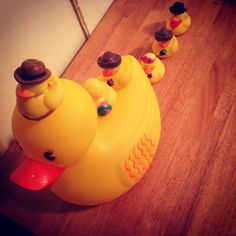 Ducks on ducks on ducks. #tyga #rubberduck #bath #kickstarter #cute #mom #livinglife #family #friends #love #piggyback