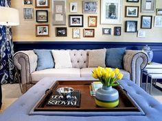 Eclectic | Living Rooms | Cortney and Robert Novogratz : Designers' Portfolio : HGTV - Home & Garden Television