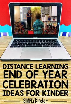 It's time to plan your end of year celebration, but how on Earth are we going to do that with distance learning? That's a topic that has come up a lot. Graduation Songs For Kids, Pre K Graduation, Kindergarten Graduation, Graduation Ideas, End Of Year Activities, Kindergarten Activities, Educational Activities, End Of The Year Celebration, Online Classroom