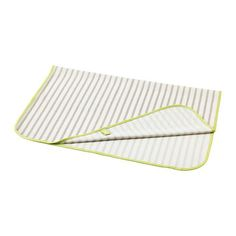 TUTIG Changing pad IKEA Waterproof backing. Easy to keep clean: machine washable. Easy to fold and store away.
