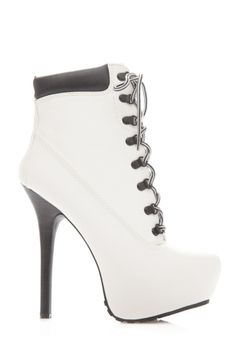 Oh hell yeah! I've never had a pair of white heels. Flossy.